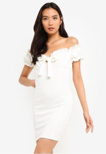 4489a8001e Shop MISSGUIDED Milkmaid Mini Dress Online on ZALORA Philippines