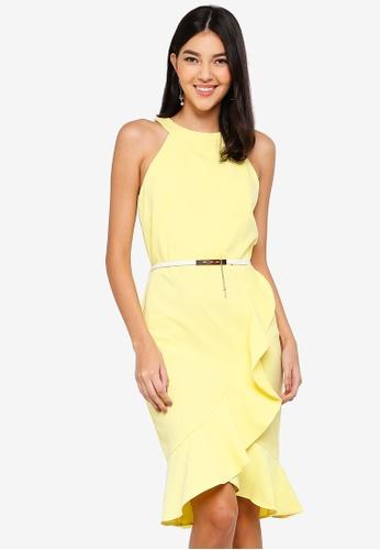 Paper Dolls yellow Lemon Frill Dress 52D7DAA7DF6C80GS_1