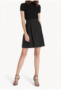efa74c2698 Pomelo black Mini Pleated Skirt - Black 35589AAE5917A9GS_1