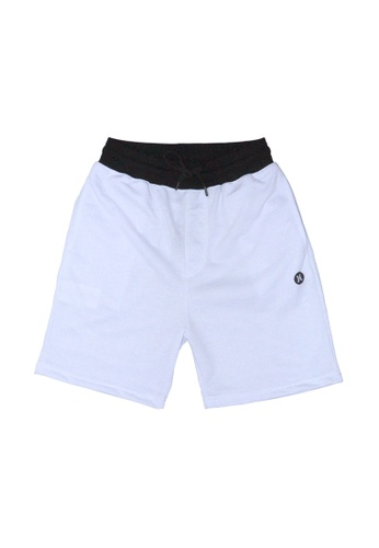 Hurley white Jersey Shorts C2564AAA275A87GS_1