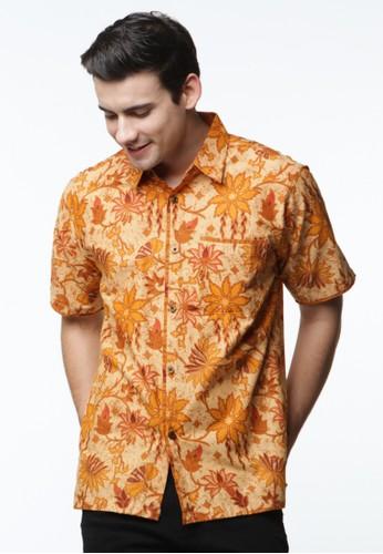 Waskito Hem Batik Katun - HB 27208 - Orange