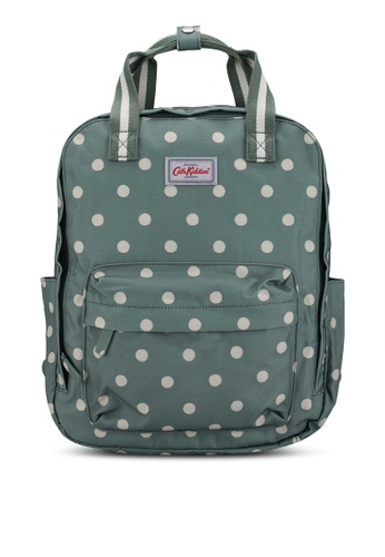Cath Kidston green Spot Recycled Utility Backpack E5230ACB49726BGS_1