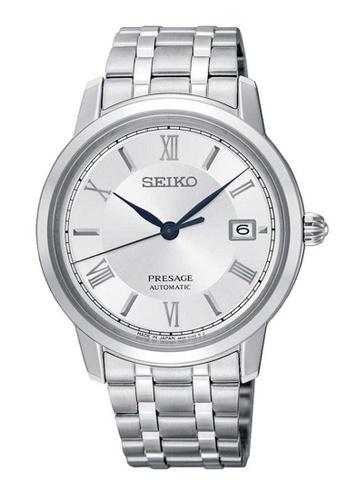 Seiko silver Seiko Presage Silver Stainless Steel Watch C633DAC2F919CDGS_1