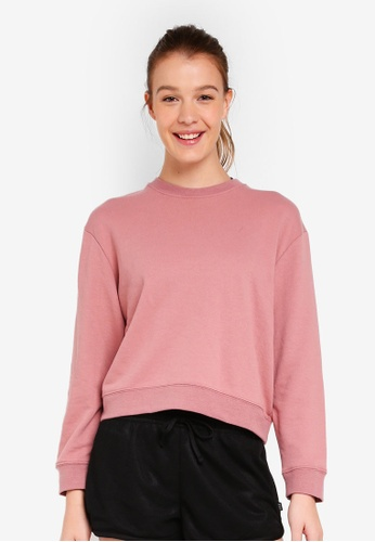 Cotton On Body pink Crew Neck Long Sleeve Top 0F229AA3512BA1GS_1