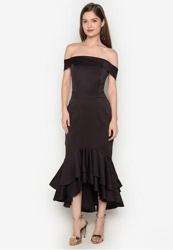 Madelaine Ongpauco Barlao black Kendall Dress MA508AA0JAQUPH_1