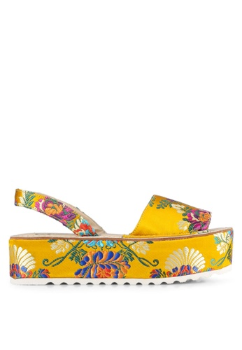 Nose yellow Shanghai Surprise Wedge Heel Sandals NO327SH0S6V2MY_1