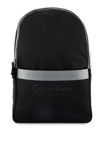 Calvin Klein black Expand Zipround Backpack - Calvin Klein Performance 362BDACC479041GS_1