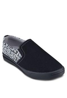 Mix Material Slip On Sneaker