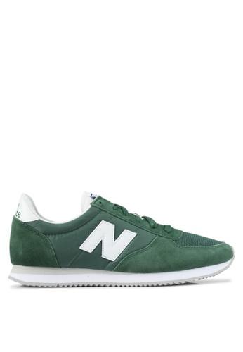 New Balance green 220 70s Running Lifestyle Sneakers NE323SH0SVD4MY_1