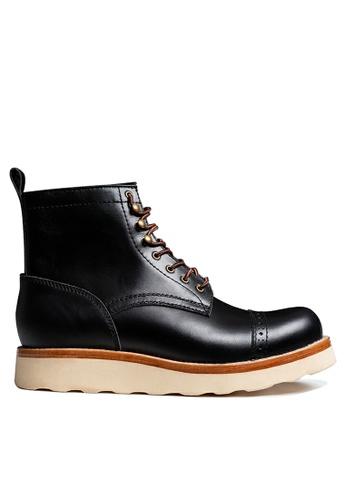 Twenty Eight Shoes Vintage Leather Martin Boot BL612-3 D912ASH75752BDGS_1