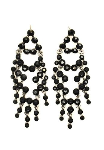 Istana Accessories black Anting Qeiza Ethnik Fashion Earring - Hitam 23D17AC2587DF3GS_1