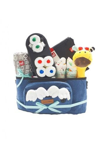 Akarana Baby multi Baby Hamper Gift Set - Abundance Mama & Baby Hamper for Fullmoon / Newborn / Baby Shower - Unisex A F946CKCF6FF19AGS_1