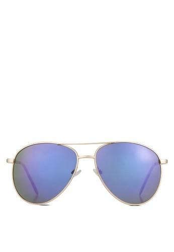 Goriano 飛行員太陽zalora是哪裡的牌子眼鏡, 飾品配件, 飾品配件