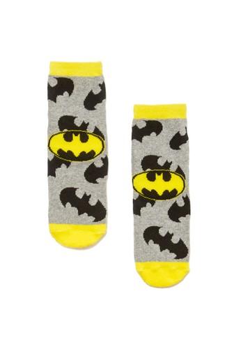 OVS grey Batman Pattern Slipper Socks EBD67KADE977DFGS_1