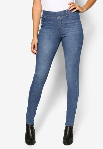 Dorothy Perkins blue Midwash Eden Jeggings DO816AA17OHUMY_1