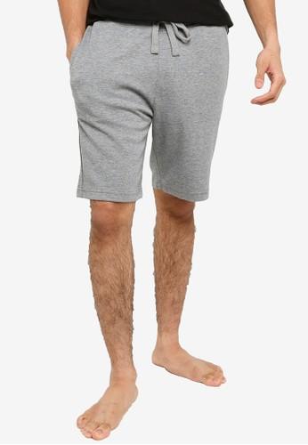 JBS of Denmark grey Bamboo Drawstring Shorts 485F2AA5786CD2GS_1