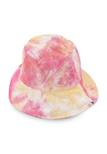 Milliot & Co. orange Skyler Reversible Bucket Hat E0F13AC56E0A6CGS_1