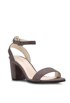42fe7bef08 ZALORA Ankle Strap Heeled Sandals RM 102.85. Sizes 35 36 37 39 41