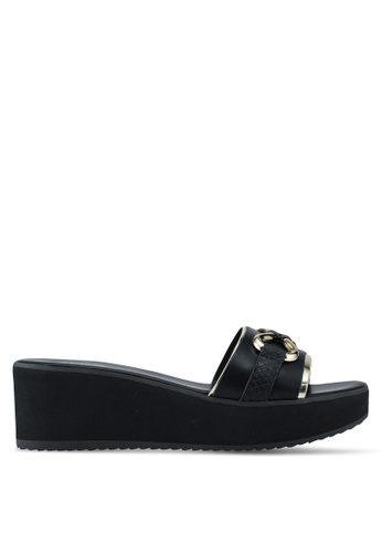 ALDO black Canolo Beach Sandals 98CA1SH7F53867GS_1