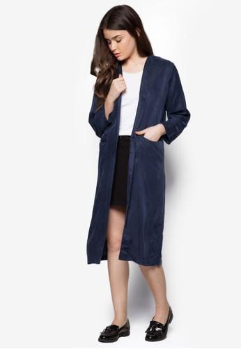 長半開襟睡袍, 服飾, 毛衣& zalora 男鞋 評價針織外套