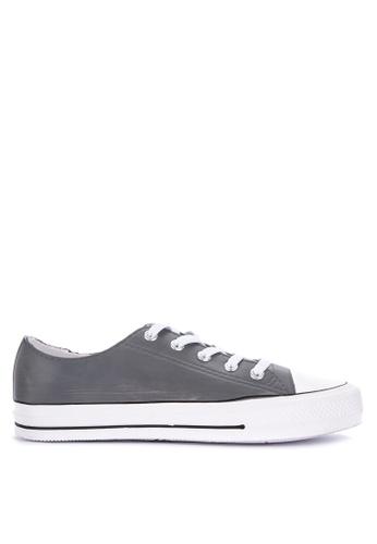 H2Ocean grey Casanova Lace up Sneakers D5C17SH1AB881AGS_1