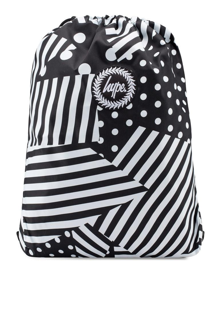 Just Stripe Black Friday Drawstring Bag White Black Hype Ship 7Ut4qHnqa ... e1ac4633f865b