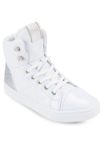 Jesprit香港分店anis 軟襯高筒運動鞋, 女鞋, 鞋