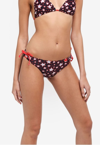 Superdry red Pacific Star Tie Bikini Bottom 7526AUSB54903CGS_1