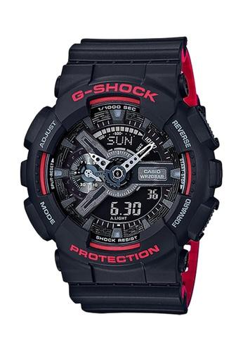 G-SHOCK black CASIO G-SHOCK WATCH GA-110HR-1ADR B9911AC8EE2036GS_1
