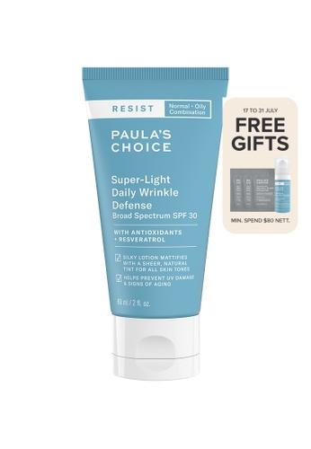 Paula's Choice blue Resist Super-Light Daily Wrinkle Defense SPF 30 3AD88BE890DD5CGS_1