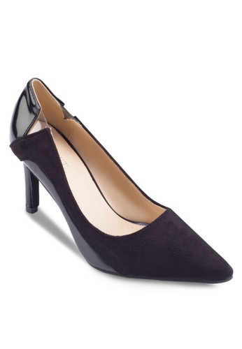 Ada Baesprit台灣outletsic Cut Detail Heels, 女鞋, 厚底高跟鞋