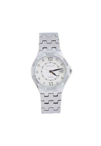 BONIA silver Bonia Rosso - BR142-2313S - Jam Tangan Wanita - Silver 695DAACFE65BC1GS_1