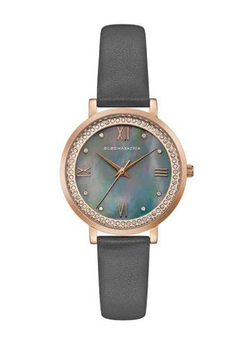 BCBG grey BCBGMAXAZRIA Rose Gold and Grey Watch FFD8BAC14A68EFGS_1