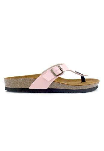 SoleSimple pink Prague - Pink Sandals & Flip Flops 19400SHCB987ECGS_1