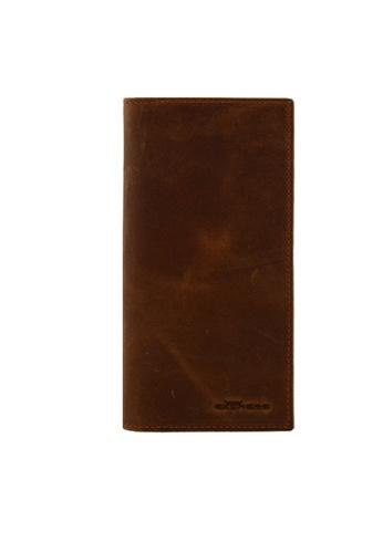 EXTREME brown Extreme Genuine Leather Long Vintage Wallet RFID Blocking Walnut Brown 3F12DAC51B8912GS_1
