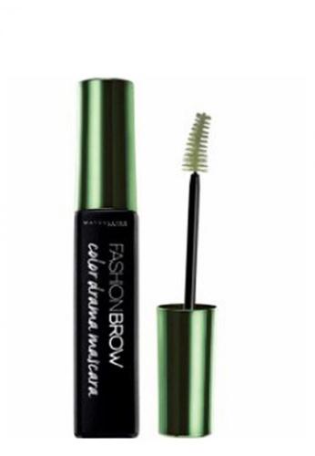 Maybelline green Maybelline Fashion Brow Color Drama Mascara Creamy Olive 37F3EBE19E8832GS_1