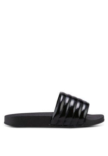 Bata black Slide On Sandals D9084SH2BDFCD5GS_1