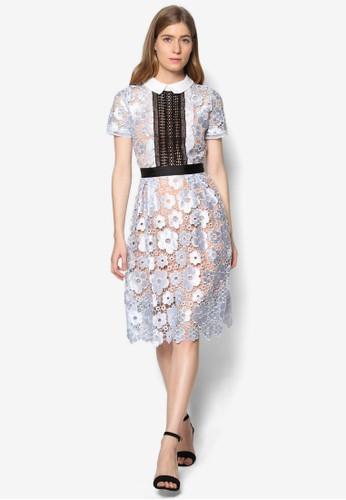 Lesley 標準領蕾絲洋esprit outlet 桃園裝, 服飾, 洋裝
