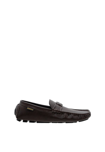 SEMBONIA brown SEMBONIA Men Microfiber Loafer (Brown) 7C8A9SHC2E23DEGS_1
