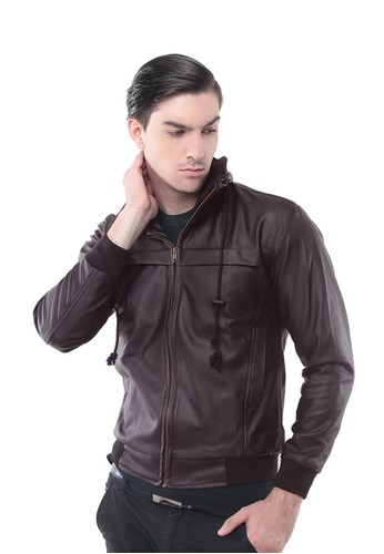 Image result for Jaket kulit 3second