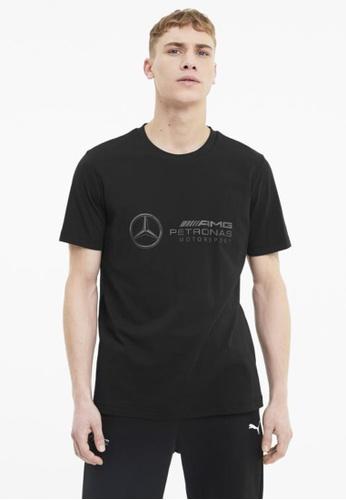 PUMA black Mercedes Logo Men's Tee F96A6AA97BB3B8GS_1