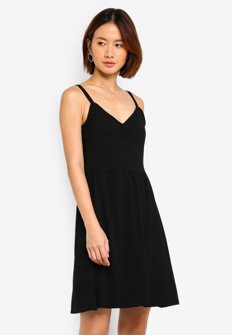 Black Perkins Black Sundress Dorothy Strappy gSwgnrfq