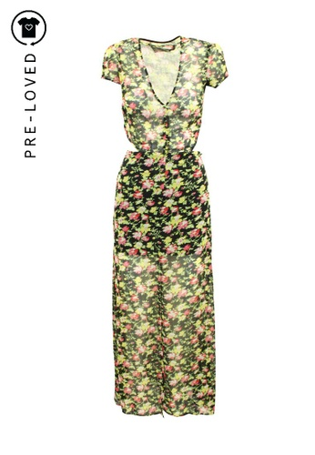 Reformation multi Pre-Loved reformation Floral Maxi Dress with Open Back 847E9AA881D59EGS_1