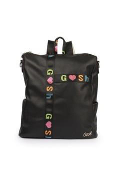 GOSH black Zinnia 447 Fashion School Backpack 44179AC0F2E848GS_1
