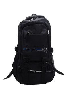 Fashion Sport Climbing Hiking School Bag BackPack BP-H1 (Gray)