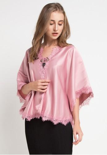 LUIRE by Raden Sirait pink Bd-Renda Keliling 302A1AAE0143CCGS_1