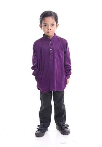 Denai Boutique purple Kurta Ahmad 3AAAEKA213CF2CGS_1
