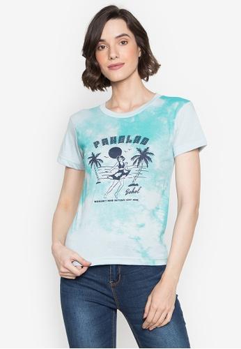 Artwork grey Panglao Beach T-Shirt 39FD9AA31ED390GS_1