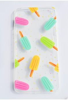 Popsicles Soft Transparent Case for iPhone 6plus, 6splus