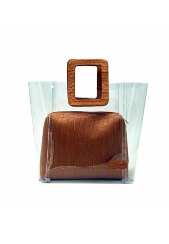 Lara brown 2-Piece Set Women Medium Top Handle Bag 0D98BACD1EDE98GS_1